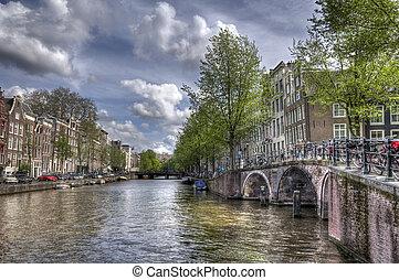 kanal, amsterdam