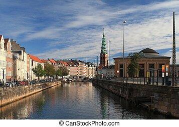 kanal, kopenhagen, frederiksholms