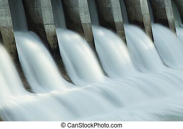 kananaskis, ダム, c1, 電気である, hydro