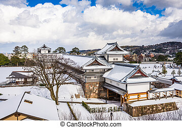 Kanazawa, Japan at Kanazawa Castle