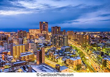 Kanazawa Japan Skyline