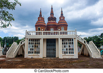 kanchanaburi, thailand, friedhof