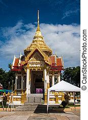 kanchanaburi, thailand, wat, neua, tempel