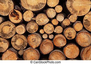 kandalló, állomást bemér, fa alkat