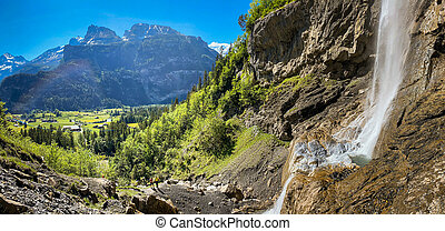 Kandersteg - amazing vacation destination in the Swiss Alps
