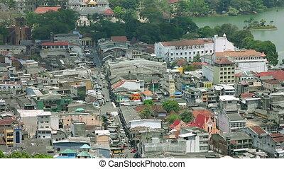 Kandy, Sri Lanka, timelapse