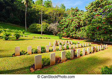 Kandy world war cemetery - Kandy second world war cemetery...