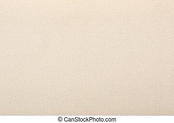 kanfas, beige, struktur, bakgrund