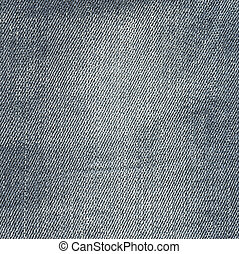 kanfas, färg, lätt, jeans, grå, struktur, bakgrund.