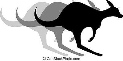 kangoeroe, effect