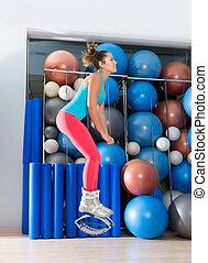 Kangoo Jumps Anti Gravity fitness boots girl - Kangaroo...