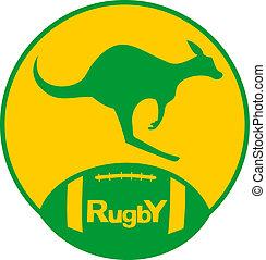 kangur, rugby