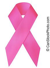 kanker, lint, bewustzijn, borst