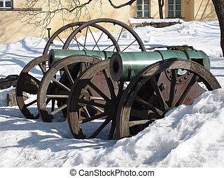 Kanonen, historisch