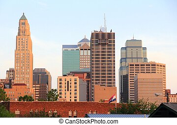 Kansas City sunset