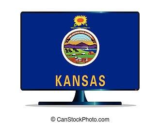 Kansas Flag TV
