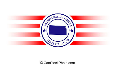 Kansas stamp