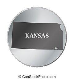 Kansas State Coin