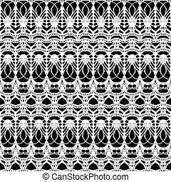 kant, model, seamless, achtergrond., maas, black , witte