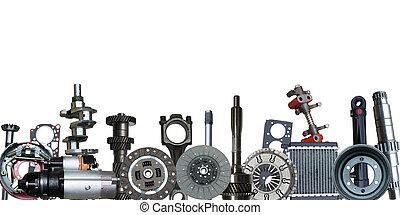 kanter, i, automobilen, parts.