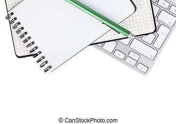 kantoorartikelen, en, computer toetsenbord