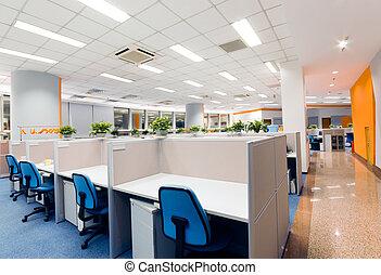 kantoorwerk, plek