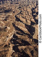 kanyon, dezertál, aerial.