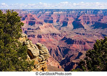 kanyon, liget, nemzeti, nagy