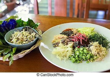 Kao Yum Thai traditional salad