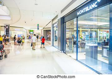 kaohsiung, -, 台湾, 23, 八月, 2013:, 台湾, 有, 许多, 大, 百货商店, 很多, 在中, 人们, 意志, 来, 对于, 这, 假日, 购物, 为了购买, 事情, 为了花费, a, 休假, 23, 八月, 2013, 在中, kaohsiung, 台湾