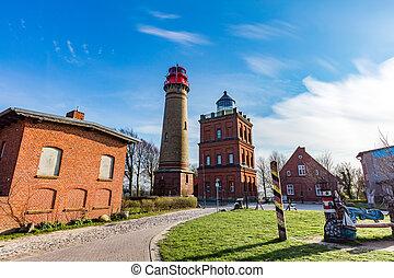 Kap Arkona, GERMANY. Historic lighthouse - Kap Arkona, ...
