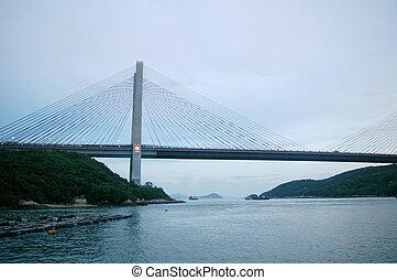 Kap Shui Mun Bridge in Hong Kong