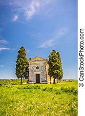 kapelle, in, toscana