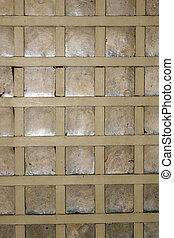 kapis-window-pane - closeup image of an old wooden window...