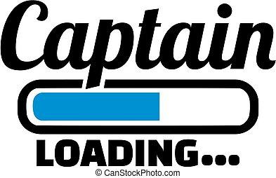 kapitány, berakodás, bár