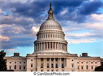 kapital, kongress, washington washington dc, oss, kupol, hus