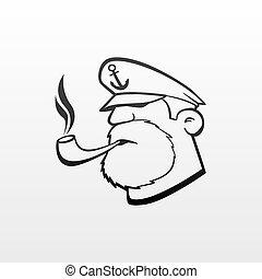 kapitan, ikona