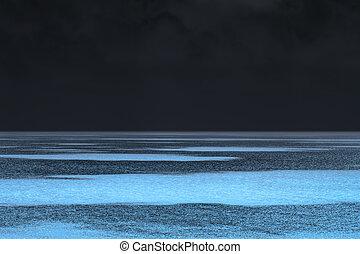 kaprys, jarzący się, morze