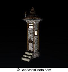 kaprys, wieża