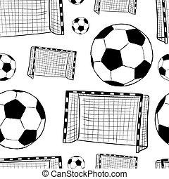 kapu, soccerballs, seamless