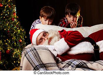 karácsony, álmodik