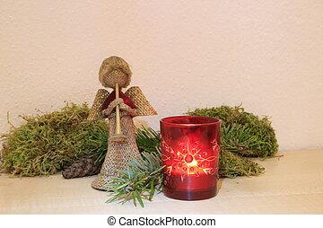 karácsony, angyalok