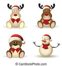 karácsony, betűk