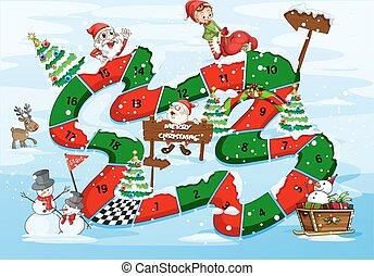 karácsony, boardgame