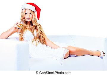 karácsony, boldog