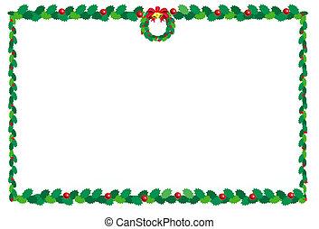 karácsony, border2