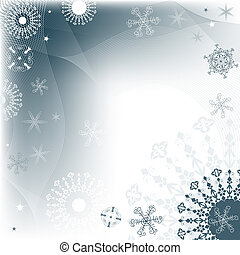karácsony, dekoratív, keret
