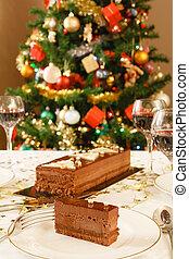 karácsony, ebédlő