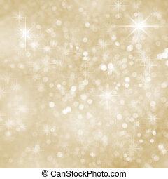 karácsony, háttér, csillogó