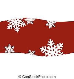 karácsony, hópihe, háttér, astract